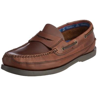 Chatham Marine Gaff G2, Men's Boat Shoes, Seahorse, 6 UK