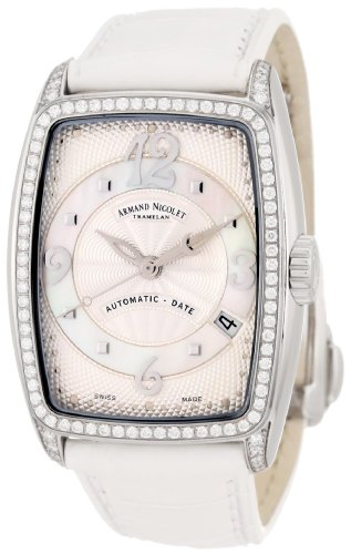 Armand Nicolet Women's 9631L-AN-P968BC0 TL7 Classic Automatic Stainless-Steel with Diamonds Watch