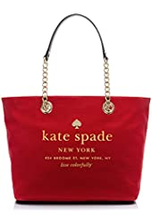 Kate Spade New York East Broadway Coal Tote Dynasty Red