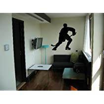 Vinyl Wall Art Decal Sticker Hockey Player 60
