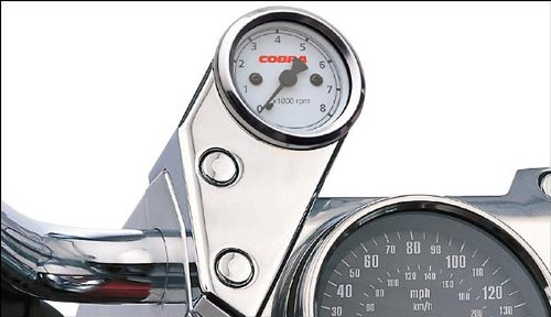 Cobra Bolt-On Tachometer Kit for Honda 2010-13 VT1300CS Sabre dwcx motorcycle adjustable chain tensioner bolt on roller motocross for harley honda dirt street bike atv banshee suzuki chopper