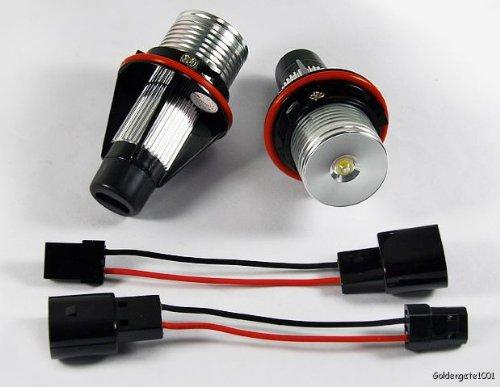 Blue Angel Eye Led Bulbs For Bmw E60 E61 E63 E64 E65 E66 X3 X5