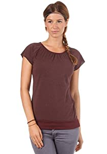Womens Easy Top red grey