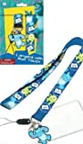 Monster University Lanyard Keychain Holder with Charm and ID Holder