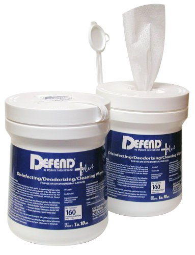 DEFEND + PLUS Disinfecting/Deodorizing/Cleaning Wipes