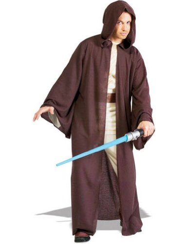 Jedi Robe Deluxe Adult Adult Mens Costume