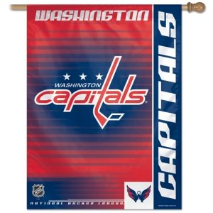 NHL Washington Capitals 27-by-37-Inch Vertical Flag