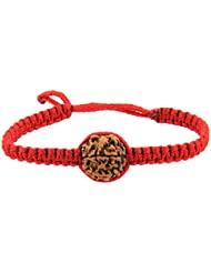Jewels River Fourteen Mukhi Java Rudraksha Bracelet