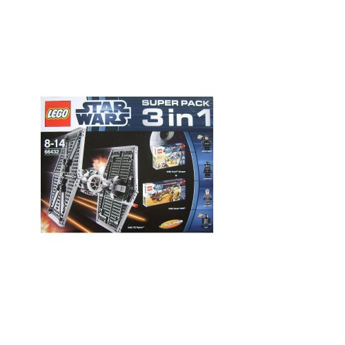 Lego 66432 Star Wars Super Pack 3 in 1 (9492 + 9490 + 9496)