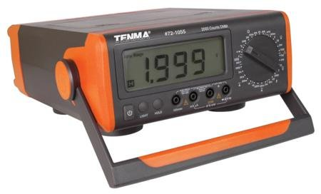 Tenma-72-1055-Benchtop-Digital-Multimeter-with-Capacitance-Frequency-Temp