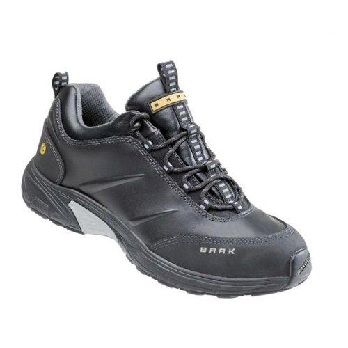 BAAK, 7644, Calzature di sicurezza Gennaio sportive esclusive scarpe S1P ESD BGR 191, dimensioni 39, nero