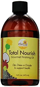 Esutras Organics Total Nourish Oil, 16 Ounce
