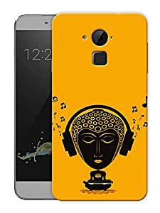 "Tripping Buddha - Buddhist God Printed Designer Mobile Back Cover For ""Coolpad Note 3"" (3D, Matte, Premium Quality Snap On Case)"