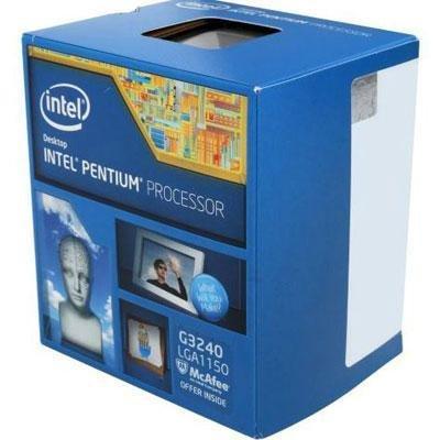 INTEL-INTEL PENTIUM BX80646G3450 G3450 1150 Vente au détail