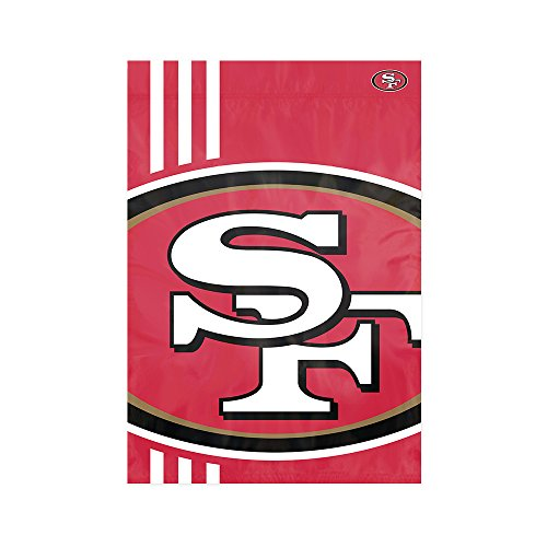 Party Animal San Francisco 49ers NFL Dye Sublimated Bold Logo Garden Flag