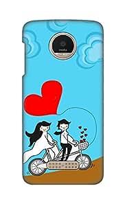ZAPCASE Printed Back Cover for Motorola Moto Z