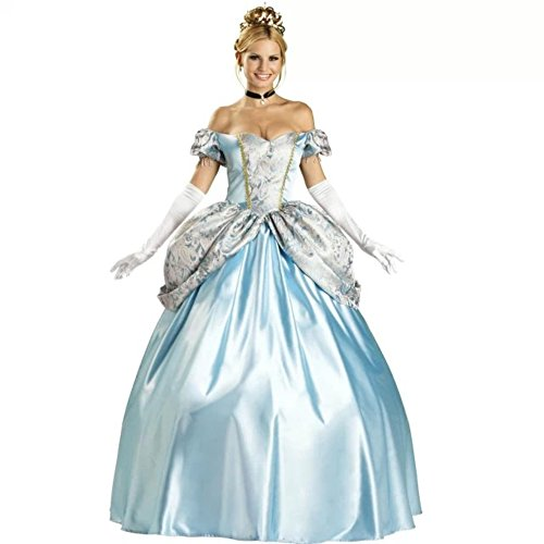 DoLoveY Palace Queen Dress Cinderella Halloween Costumes