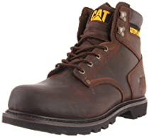 Hot Sale Caterpillar Men's Second Shift Work Boot,Dark Brown,9.5 M US
