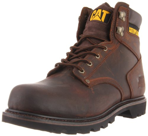 Caterpillar Men's Second Shift Work Boot,Dark Brown,7.5 M US