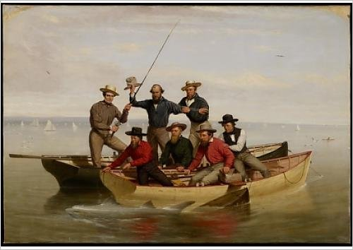 fine-art-print-of-a-fishing-party-off-long-island-1860-oil-on-canvas