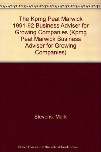 the-kpmg-peat-marwick-1991-92-business-adviser-for-growing-companies-kpmg-peat-marwick-business-advi
