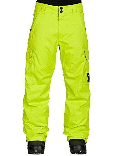 DC Shoes Banshee-Pantaloni da neve, da uomo, taglia L, colore: giallo