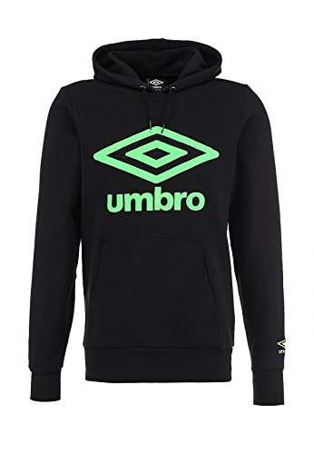 Umbro Felpa Uomo Logo Oh Hooded Top Col.Black 62583U B (l)