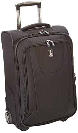 Travelpro Luggage Maxlite3 22 Inch Expandable Rollaboard, Black, One Size