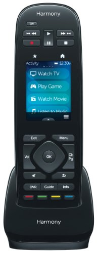 New Logitech Harmony Ultimate One IR Remote with Customizable Touch Screen Control (915-000224)