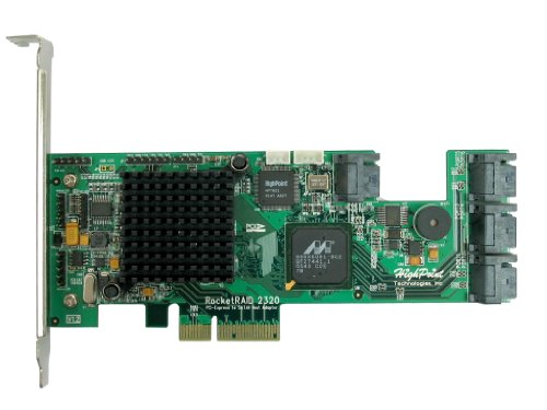 HighPoint-RocketRAID-2320-8-Channel-PCI-Express-x4-SATA-3Gb-s-RAID-Controller