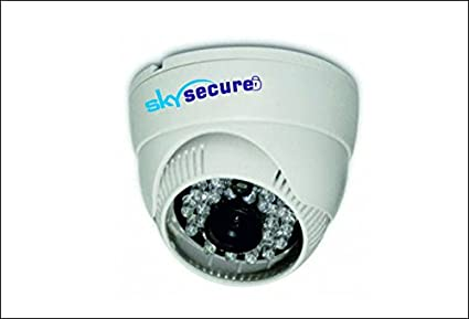 Sky-Secure-SS-1001-H42DI-480TVL-Dome-CCTV-Camera-(Pack-of-4)