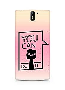 Amez You can Do It! Back Cover For Oneplus One