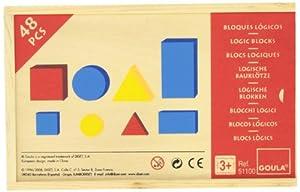 Goula - Bloques lógicos 1, juego educativo (Diset 51100) por Diset en BebeHogar.com