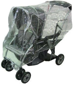 Sashas Rain and Wind Cover for Baby Trend Sit N Stand/Snap N Go Stroller