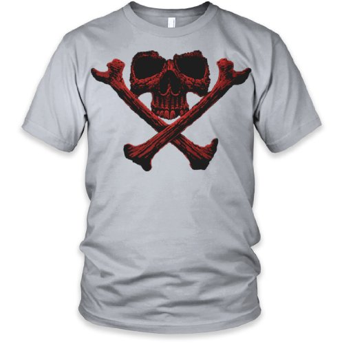 Bonehead Fine Jersey T-Shirt, New Silver, 2XL