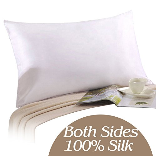 Buy Cheap YANIBEST 100% Pure Natural Mulberry Silk Pillowcase for Hair & Facial Beauty King Size...