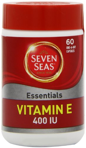 Seven Seas Vitamin E 400IU ONE-A-DAY 60 Capsules