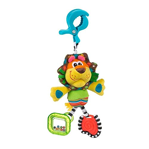 PLAYGRO Jouet Nomade Roary le Lion