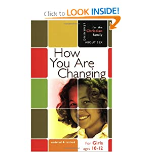 How You Are Changing: For Girls Ages 10-12 and Parents (Learning about Sex)