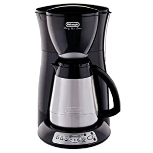 Delonghi Coffee Maker Stainless Steel Carafe : Amazon.com: DELONGHI 10Cup Thermal Carafe 24/7 Coffee Maker DC55TCB: Drip Coffeemakers: Kitchen ...