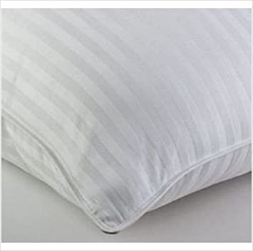 Amazon.com: Wamsutta Signature Pillows, KING Size Luxurious Woven Stripe Bed Pillow: Home & Kitchen