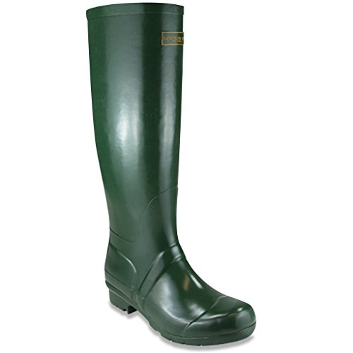 London Fog Thames Women's Boot 10 B(M) US Hunter Green (Leopard Hunter Liners compare prices)