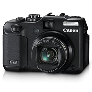 Canon G12 10 MP Digital Camera with 5x Optical Image Stabilized Zoom and 2.8 Inch Vari-Angle LCD $379