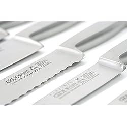 Güde Buntschneidemesser KAPPA Serie Klingenlänge: 9 cm Stahl, 0704/09