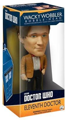 Doctor Who Wacky Wobbler Bobble-Head 11th Doctor 15 cm