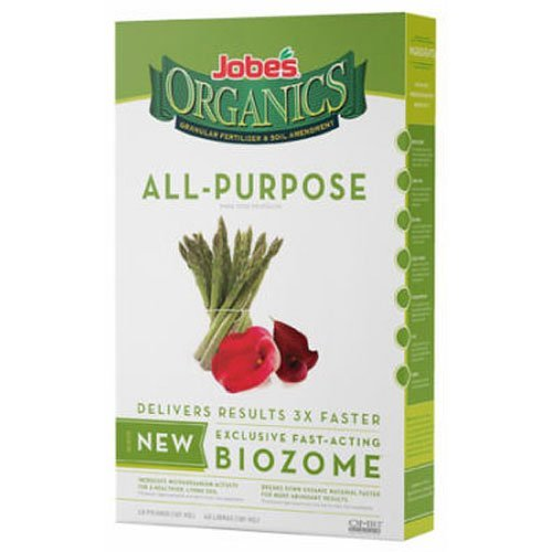 Jobe's 09526 Organic All Purpose Granular Fertilizer 4-Pound Bag