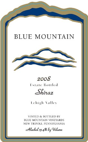 2008 Blue Mountain Estate Shiraz 750 Ml