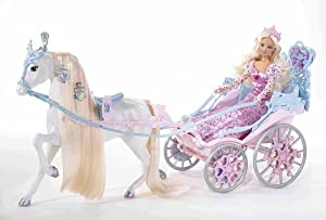 Barbie h7452 caballo y el carruaje de cenicienta amazon - Carroza cenicienta juguete ...