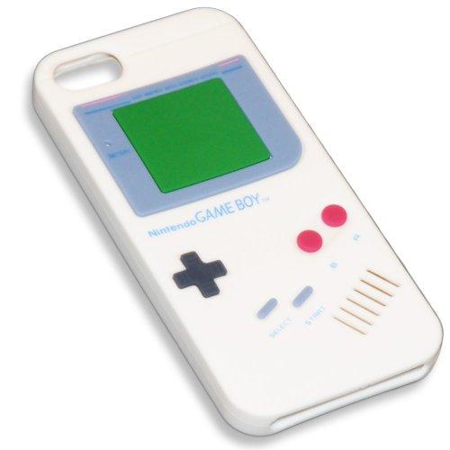 charmate-carcasa-para-iphone-5-silicona-diseno-de-nintendo-game-boy-blanco