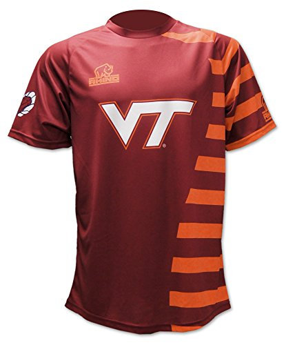 Rhino Rugby Virginia Tech Hokies Replica Home Jersey, XX-Large (Netball Shoes compare prices)